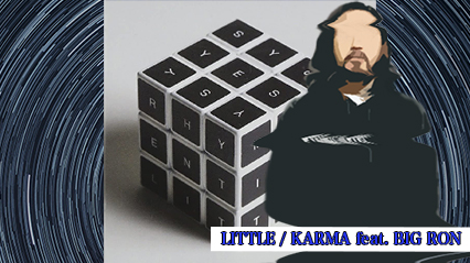 R-指定、LITTLEの『KARMA feat. BIG RON』を紹介|日本でラップをすることのカルマを描いた楽曲