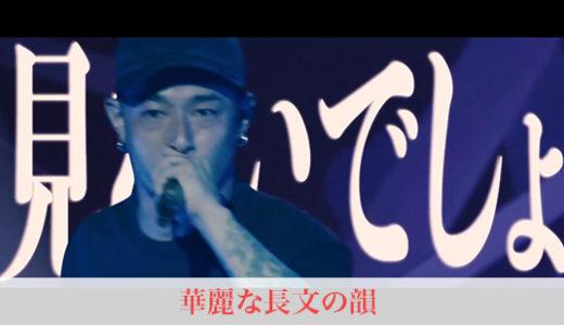 【日本語ラップ】華麗な長文の韻